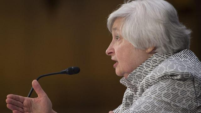 Fed Chairwoman Janet Yellen on Monetary Policy