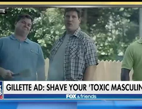 Gillette addresses 'toxic masculinity' in new ad campaign sparking  controversy