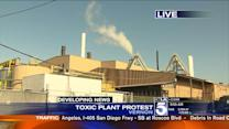 City Leaders Rally Against Pollution From Vernon Battery Plant