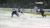 Jake Muzzin fires it top-shelf on Niemi
