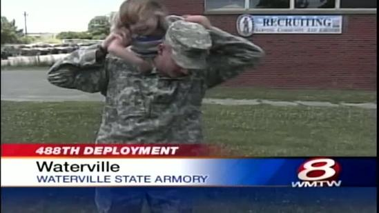 Soldiers and their families prepare for deployment