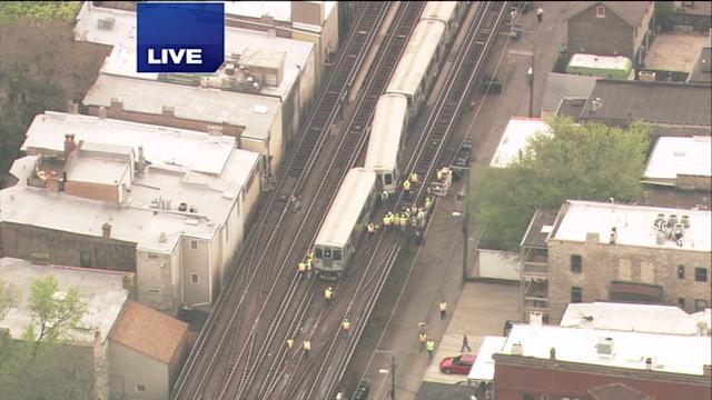 CTA Red Line derails in Lincoln Park
