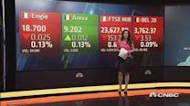 European shares open flat amid low volumes, Greece fears