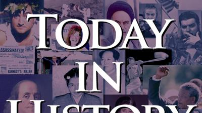 Today in History for August 21st