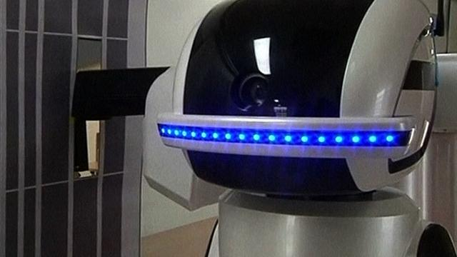 World's first robot prison guard