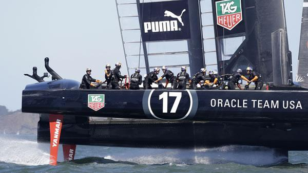 Fast catamarans will be stars in America's Cup