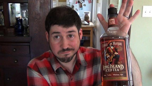 Supertaster Daily: Questionable Drinking: Capt. Morgan Long Island Iced Tea