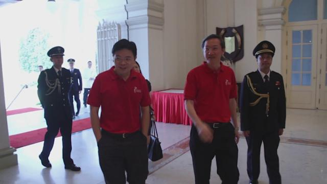 Lions' reception with President at Istana