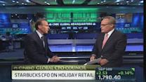 Starbucks CFO: Holiday is a fabulous time for us