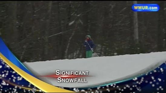 Ski areas happy for snowfall