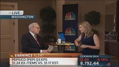 Buffett buys banks based on the future