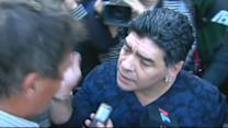 'Hand of God' strikes again: Diego Maradona slaps reporter