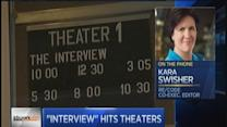 'The Interview' publicity drove demand: Swisher