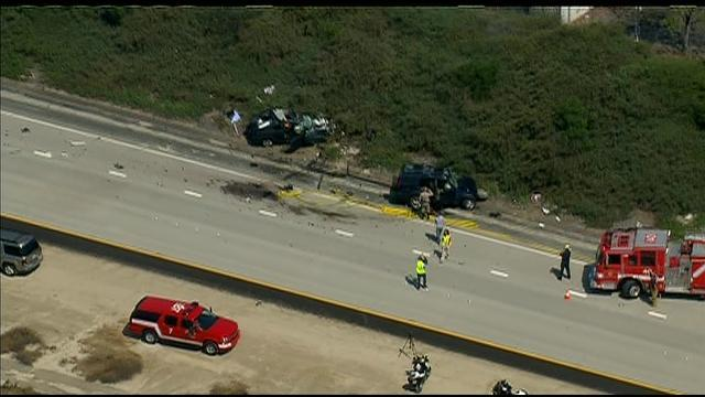 Chopper 8 Raw Video: Multi-car fatal accident at SR-56 & Black Mtn Road
