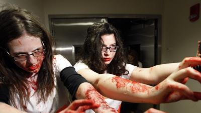 'Zombies' Invade University of Michigan Campus