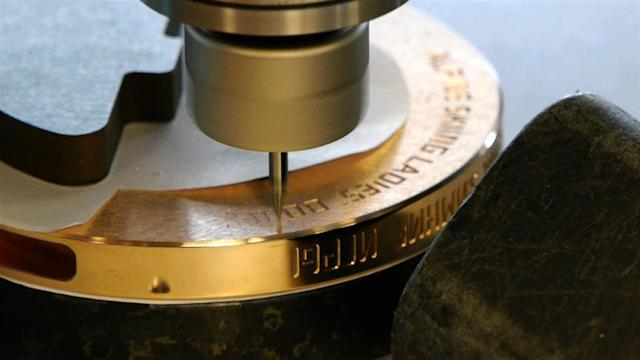 Sochi 2014: How to Engrave an Olympic Medal