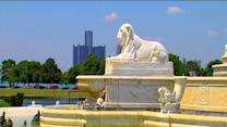 Belle Isle leased to the state
