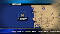 3.2 quake hits off Del Mar coast