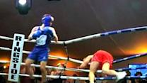 Chinese Banker Boxing