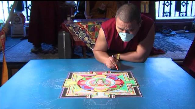 Watch Tibetan Monks Make Art One Piece of Sand At a Time