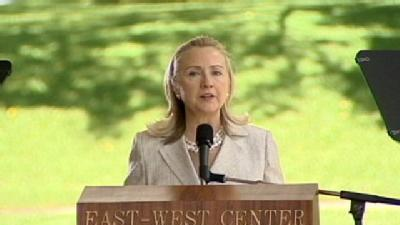 Secretary Of State Delivers 21st Century Message At East West Center