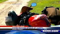 Motorcycle chase tops 140 mph