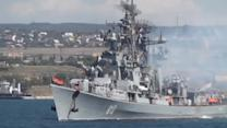 Russia sends another navy ship towards Syria