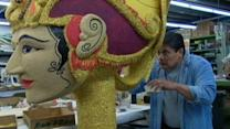Final Preparations for Tournament of Roses Parade