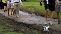 Rain Makes A Mess At Byron Nelson Golf Tournament