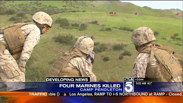 Investigation Underway After 4 Marines Killed in Training Operation