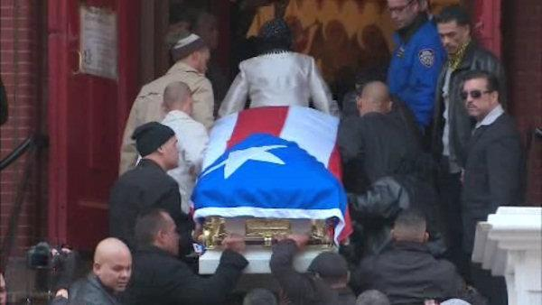 Funeral services for former boxing champion Hector 'Macho' Camacho