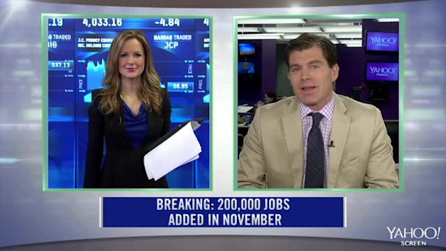 Breaking News: November Jobs Report; Sears Holdings Spins Off Lands-End; JCP Slides Again