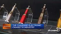 The changing e-cigarette industry