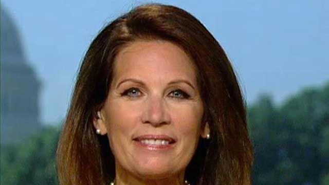 Bachmann: Obama's actions 'laughable' on world stage