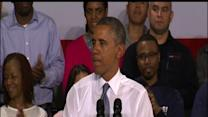 in Wisconsin, Obama Focuses on Job Training