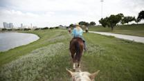 Horses Hoof It on Fort Worth's Urban Trails