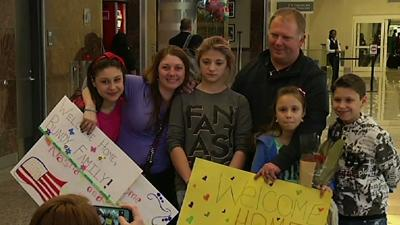 U.S. Family Reunited After Adoptions in Ukraine