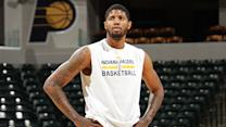 Paul George on comeback, facing Hawks or Cavaliers in playoffs