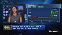 Pandora shares jump 10% on sale rumors