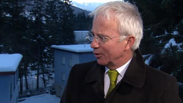 Davos 2014: StanChart takeover 'rubbish'