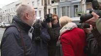 "Corbyn tells photographers they're ""very rude"""