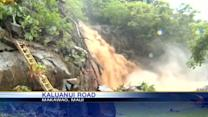 Strong waters sweep away Maui cottage