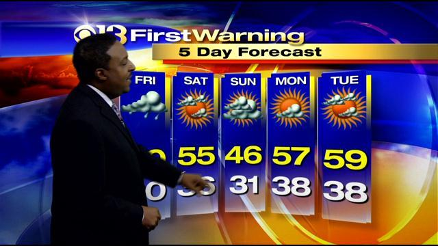 Meteorologist Tim Williams Has Your Thursday Afternoon Forecast