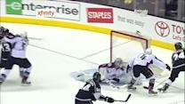 Semyon Varlamov robs Fraser with late glove