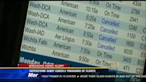 Superstorm Sandy cancels thousands of flights