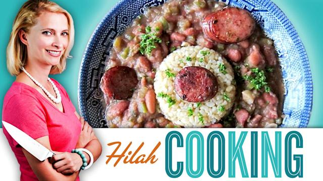 Hilah Cooking | Red Beans & Rice