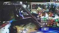 Crooks steal store ATM during smash-and-grab burglary