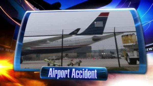 Plane hit by fuel cart at Philadelphia airport