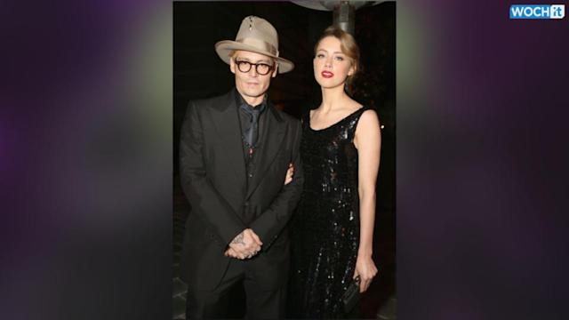 Johnny Depp And Amber Heard Make First Official Appearance As A Couple