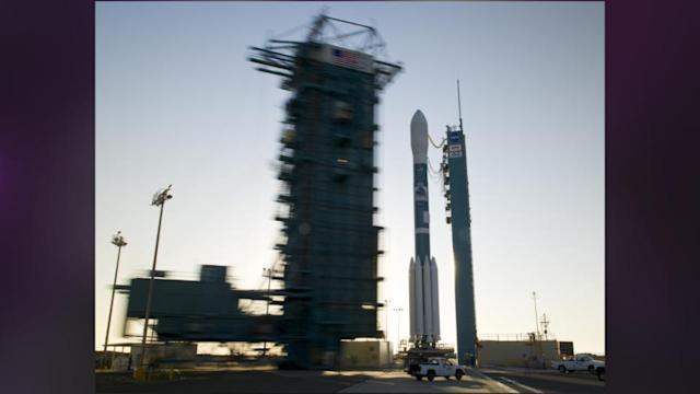 Rocket Carrying Spy Satellite Launches From Calif.